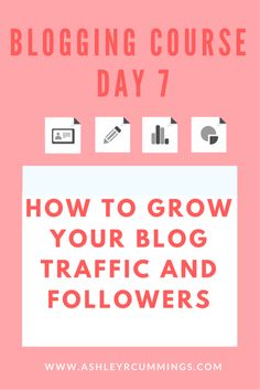 Blogging Course: How to grow your blog traffic and followers, seo, blog, traffic, get more traffic, get more followers