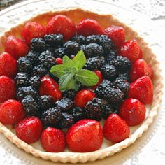 Fabulous Fresh Fruit Tart