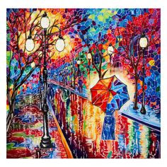 """Night Walk 59"""" Panel Bright Multi - Fabric.com Sew Over It Patterns, New Look Patterns, Simplicity Patterns, Christmas Fabric Crafts, Skyline Painting, Halloween Fabric, Fabric Gifts, Panel Quilts, Sewing A Button"""