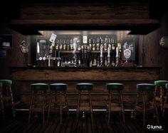 irish pub by digital art 3 dimensional art scenes interiors .