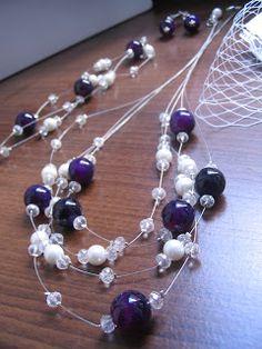 blueberry jewelry (handmade)