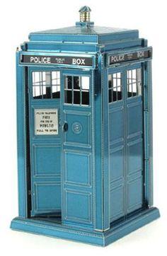 Doctor Who Tardis Metal Earth Model Kit