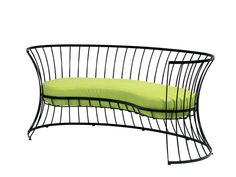 Metal garden sofa CLESSIDRA Clessidra Collection by Ethimo