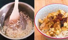 Reisküche: Milchreis mit Quinoa und Apfelstückli Freundlich, Quinoa, Oatmeal, Breakfast, Food, Rice, Health, Food Food, Kochen