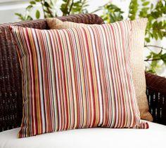 Emerson Stripe Indoor/Outdoor Pillow