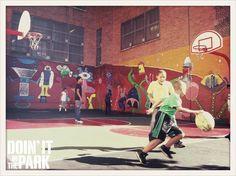 Playground, Basketball Court, Nyc, Facebook, Sports, Children Playground, Hs Sports, Outdoor Playground, Sport