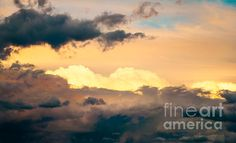 """ Storm clouds at Sunset "" prints now available."