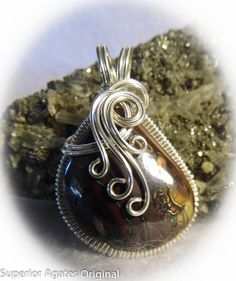 Koroit Boulder Opal Silver Pendant by Superior by superioragates, $65.00