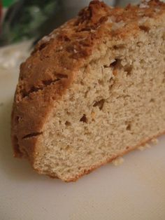 Gluten free bread.The Chef approves of this bread so highly that he has asked me to make a loaf every few days fo