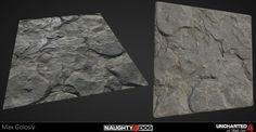 Uncharted 4 Substance Designer Rock Graph, Max Golosiy on ArtStation at https://www.artstation.com/artwork/XDR9a