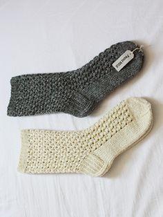 (found MUJI)knitted socks