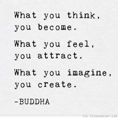 I so need to follow this advice! 'What you feel, you attract' - That is an interesting one! I need to feel differently in this case because I don't attract what I want!