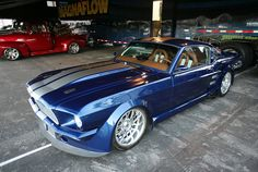 1966 Mustang Fastback Pro-Touring @ SEMA Show 2013