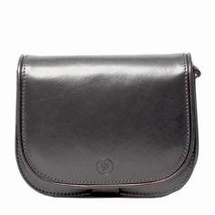 MAXWELL SCOTT BAGS Luxury Italian Leather Women s Saddlebag Purse Medium  Medolla M Night Black.   da4675c9c9028