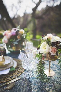 Cassandra Farley Photography and her talented team of vendors is sharing this gorgeous bohemian garden wedding styled shoot with us today! Bohemian Chic Weddings, Bohemian Wedding Inspiration, Bohemian Bride, Boho Wedding, Wedding Bride, Wedding Table, Wedding Ideas, Fairy Lights Wedding, Love Anniversary