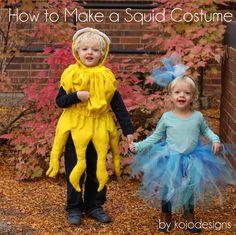 DIY Animal Costume : DIY  make a squid costume