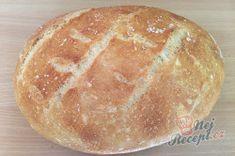Extra jemný hrnkový chléb i pro začátečníky, který stačí jen zamíchat vařečkou. – RECETIMA Bread, Food, Brot, Essen, Baking, Meals, Breads, Buns, Yemek