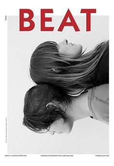 #design #layout #color- this is an interesting layout im wondering if it is for a magazine. The use of simple typography does not overshadow the models on the front- But adds an interesting modern feel. The splash of color just enough to make it work harmoniously together.