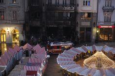 Obľúbená kaviareň sa zmenila na zhorenisko.   Nový Čas Bratislava, Opera House, Building, Travel, Fotografia, Viajes, Buildings, Destinations, Traveling