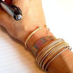 """cool cool @carolina_bucci #bracelets #ineedthem #carolinabucci @museshowroom #jewelry4life"""