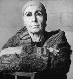 Louise Nevelson! My idol. Sometimes we chat in my head.