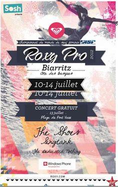 #Roxypro, surf, musique, art et fashion http://www.grainedesportive.fr/2012/05/24/roxy-pro-surf-musique-art-fashion