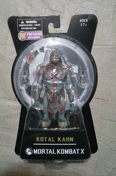 Mortal Kombat X: Kotal Kahn Action Figure (2015) Mezco PX Exclusive NIP #Mezco