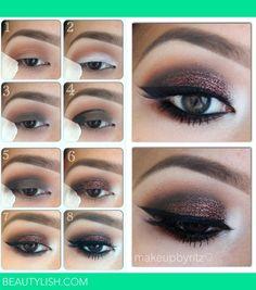 glitter eyes | Ritz O.'s Photo | Beautylish