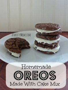 homemade oreos, #diy