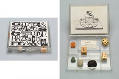 MoMA | Fluxus Editions: 1962 to 1978 | Games and Puzzles (Name Kit ...