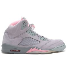 Air Jordan Retro 5 Shy Pink Silver Stealth 313551-061