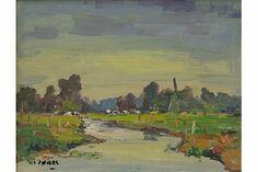 """Piet Zwiers - boerderij """"de wiek"""""""