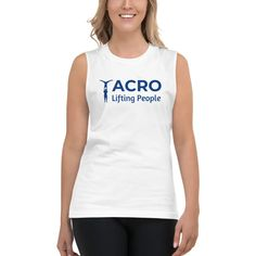 This soft, sleeveless tank is so comfy you're going to want to wear it everywhere. The relaxed fit and low-cut armholes give it a casual, urban look. Urban Looks, Muscle Shirts, Acro, Athletic Tank Tops, Tank Man, Women's Shirts, Casual, People, Mens Tops