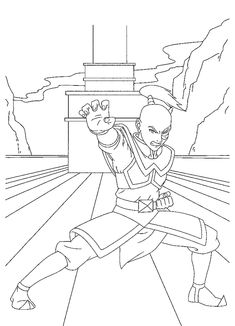 avatar coloring page 22 is a coloring page from avatar coloring booklet your children express their imagination when they color the avatar coloring page