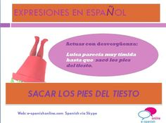 B1. EXPRESIÓN: SACAR LOS PIES DEL TIESTO. Proverbs, Chart, Personal Care, Sayings, Self Care, Lyrics, Personal Hygiene, Powerful Quotes, Word Of Wisdom