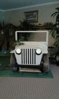 Jungle safari jeep