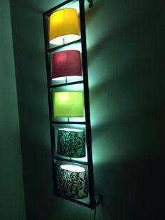 Wandlamp kare design #hue