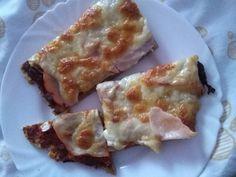 Domácí křupavá pizza z ovesných vloček <3