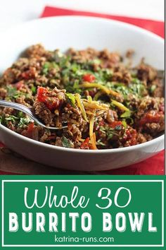 Whole 30 Meal Plan, Whole 30 Lunch, Whole 30 Diet, Paleo Whole 30, Whole 30 Recipes, Ground Turkey Recipes Whole 30, Whole 30 Meals, Clean Eating Recipes, Clean Eating Snacks