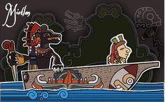 Los 5 mas increíbles ilustradores mexicanos en temas prehispánicos | Tlacaelel…