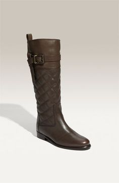 Burberry quilted riding boot Leather Riding Boots 2c252659a88