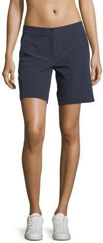 8e82ac096d3 Lands  End Women s Plus Size Chino 12 Shorts-Sea Cliff Blue Geo