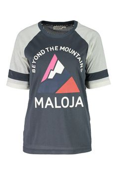 Flow MTB stock Maloja Women s MTB Freeride long and short sleeve jerseys  AlzM in glacier 0822e0bea