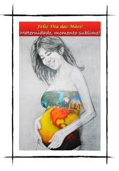 Homenagem do Dia das Mães pela artista plástica Maria Cecilia Camargo.