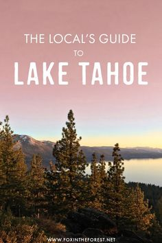 Visiting Lake Tahoe soon? If you're wondering what to do in Lake Tahoe or how to plan the perfect trip, I've put together the ultimate guide to visiting Lake Tahoe. Whether you're traveling there for…More Usa Travel Guide, Travel Usa, Travel Guides, Travel Tips, Us Travel Destinations, Places To Travel, California Travel, Michigan Travel, Northern California