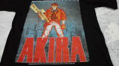 RARE VINTAGE 80s AKIRA 1988 T Shirt Tokyo Fashion Victim Kaneda Anime Explode #FruitoftheLoom #GraphicTee