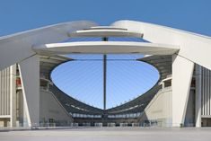 Featuring a 105-meter arch that supports the stadium's roof, the Moses Mabhida Stadium in Durban, South Africa features our concrete!