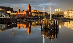 Breathtaking views over the Bristol channel and north to the mountains are offered on this walk of Cardiff Bay, along with a tour of waterfront shops and cafes