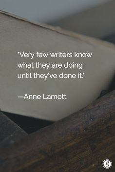 Writing is a journey of discovery. What have you learned by writing?