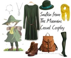 Snufkin casual cosplay